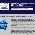 Infografik: Die Top-Abweichungen in CQI-9 Audits